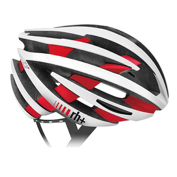 zerorh+ EHX6055 ZY 48マットホワイト/ブリッジマットレッド ヘルメット