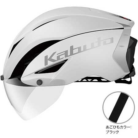 OGKカブト エアロ-R1(AERO-R1) マットホワイト ヘルメット