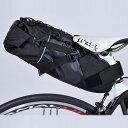 オーストリッチ スマートイージーパック(インナーバッグ付) ブラック サドルバッグ