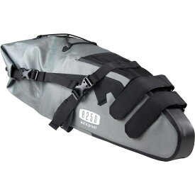 R250 防水サドルバッグ ラージ グレー