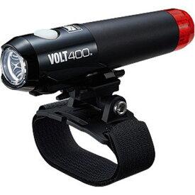 キャットアイ ボルト400 デュプレックス(HL-EL462RC-H) ヘッド・テール一体型ヘルメットライト USB充電式