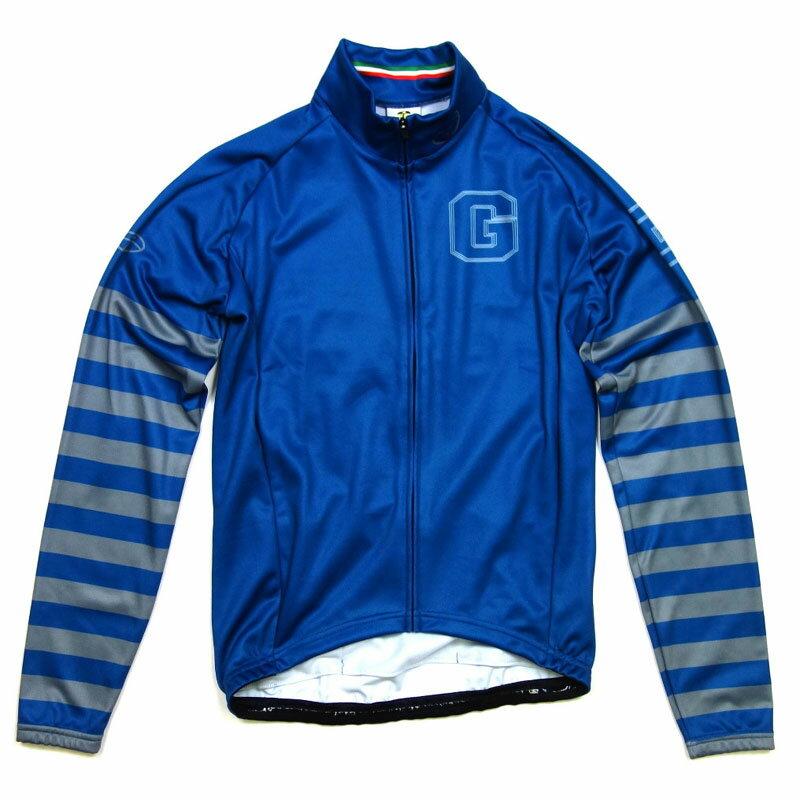 【現品特価】GSG Blue & Stripe LS Jersey Blue