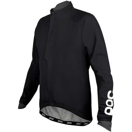 POC Raceday Stretch Light Rain Jacket(レースデイ ストレッチ ライト レイン ジャケット) Navy Black