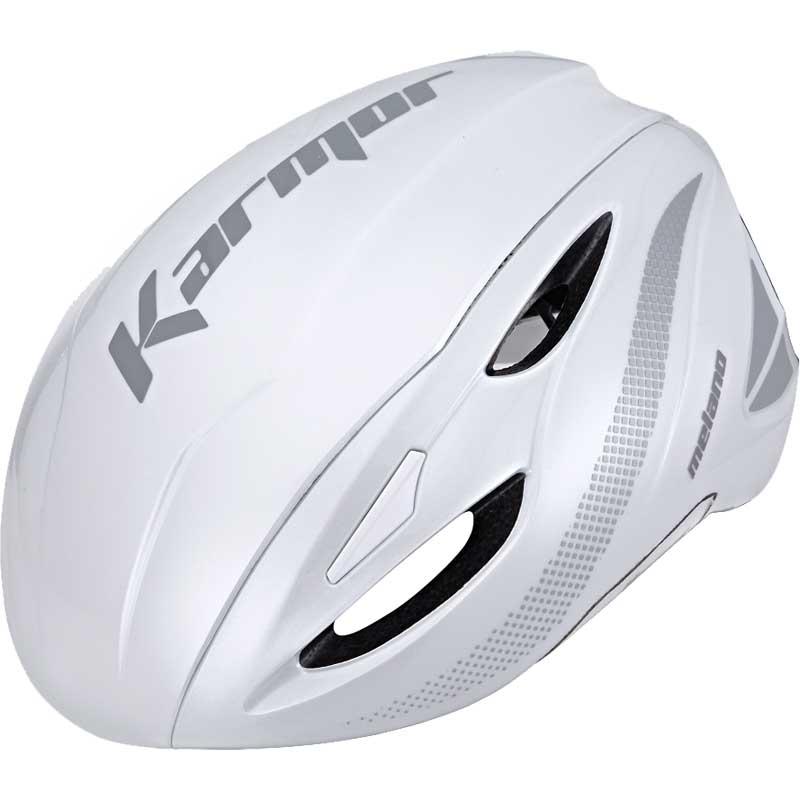 【あす楽】シマノカーマー MELANO(メラノ) ホワイト ヘルメット Boaシステム搭載 Karmor