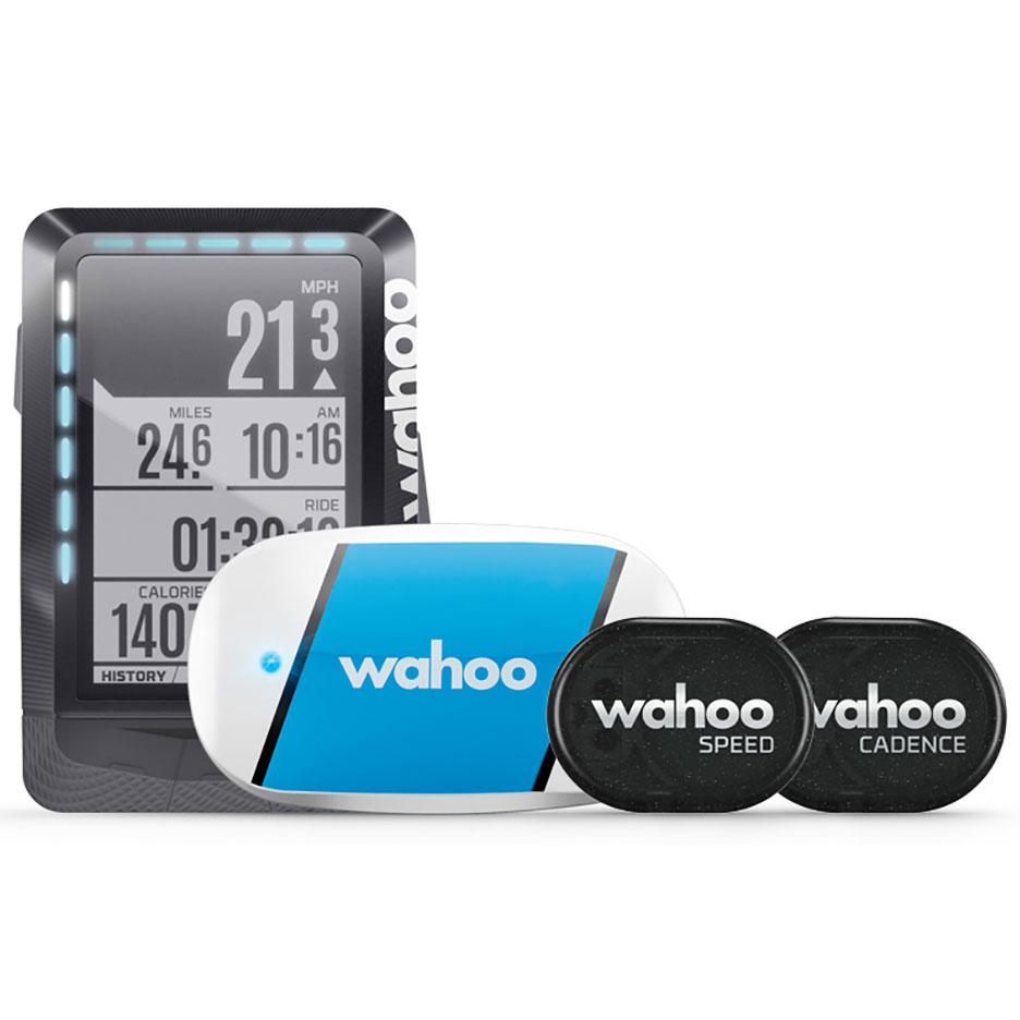 WAHOO エレメント バンドル GPS 心拍、ケイデンス、スピードセンサー