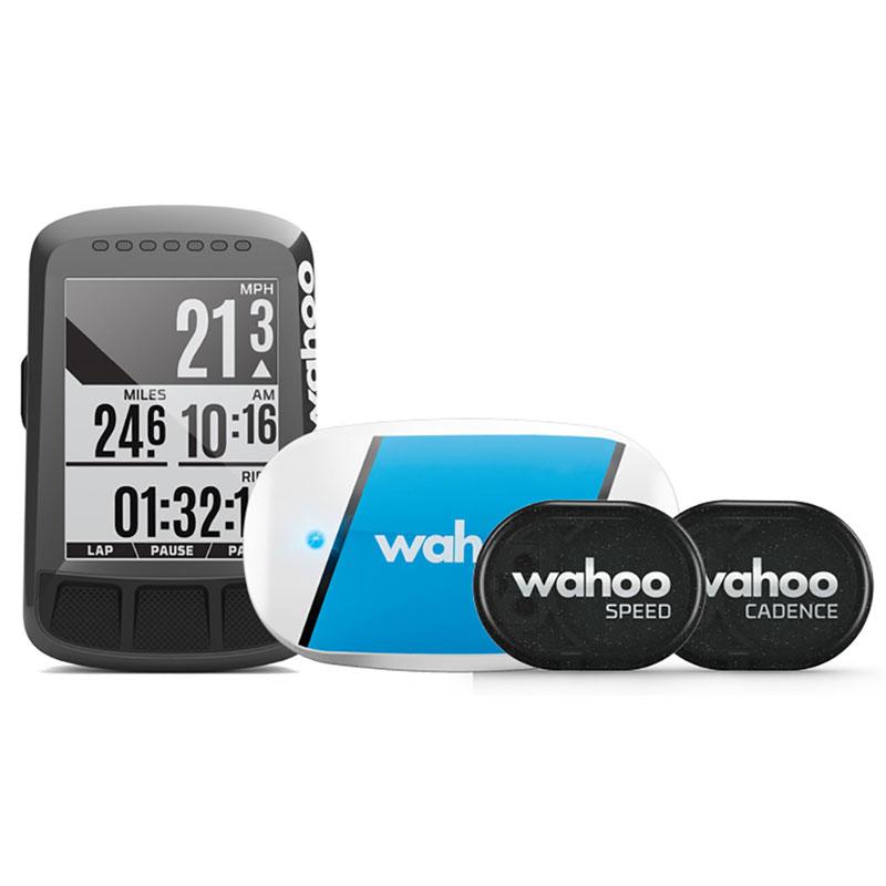 WAHOO エレメントボルト バンドル GPS 心拍、ケイデンス、スピードセンサー