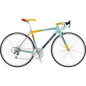 【送料無料】【代引不可】18ビアンキ FENICE PRO CAMPAGNOLO CENTAUR Celeste/Yellow【自転車】【ロードレーサー】