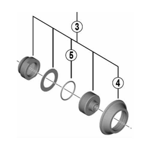 シマノ [3]ロックナットユニット