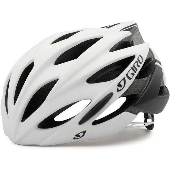 【特急】ジロ SAVANT ワイドフィット マットホワイト/ブラック ヘルメット