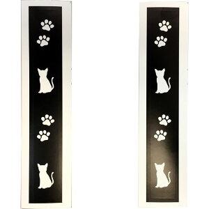 【あす楽】【M便】ポケマル バーエンドテープ ブラック 猫と肉球