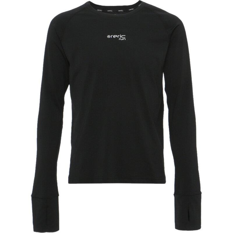 レリック ロングスリーブ フィットTシャツ ブラック
