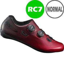 シマノ RC7(SH-RC701) レッド ノーマルタイプ SPD-SL シューズ BOA