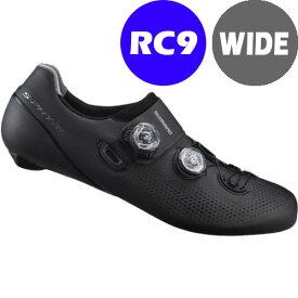 【特急】【SALE】シマノ RC9(SH-RC901) ブラック ワイドタイプ SPD-SL シューズ BOA 190809