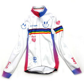 セブンイタリア Neo Rainbow Smile Lady Jacket ホワイト