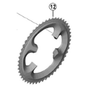 [12]チェーンリング 52T-MT (ブラック)52-36T用