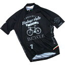 セブンイタリア Vintage Bicycle Jersey ブラック
