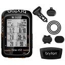 【あす楽】ブライトン Rider450T トリプルキット(ケイデンス、スピード、心拍センサー付) GPS