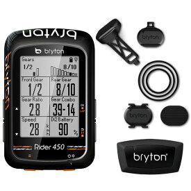 ブライトン Rider450T トリプルキット(ケイデンス、スピード、心拍センサー付) GPS