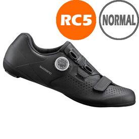 【特急】【SALE】シマノ RC5(SH-RC500) ブラック ノーマルタイプ SPD-SL シューズ 190809