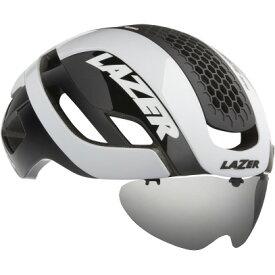 シマノレイザー バレット 2.0 AF アジアンフィット ホワイト レンズ、LEDテールライト、ライフビームなし ヘルメット LAZER レーザー