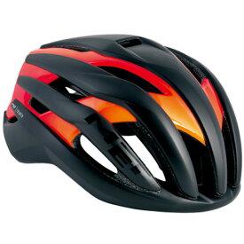 メット トレンタ ブラックシェードオレンジ ヘルメット