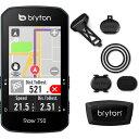 【あす楽】ブライトン Rider750T トリプルキット(ケイデンス、スピード、心拍センサー付) GPS