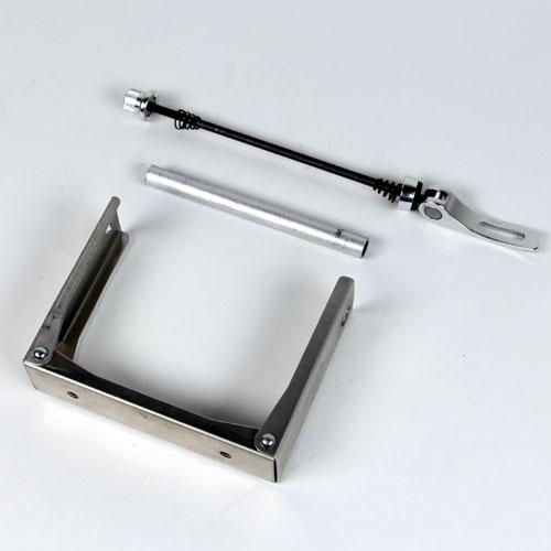 【あす楽】オーストリッチ エンド金具 130mm リア用 高さ90mm