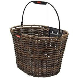 リクセンカウル ストラクチャーオーバル ブラウン フロントバイクバスケット 【自転車】【バッグ】【フロントバッグ】【リクセンカウル】