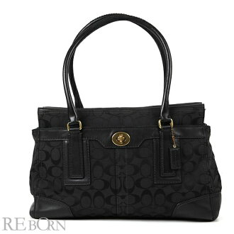 Coach bag tote bag COACH signature turn lock tote bag 11063