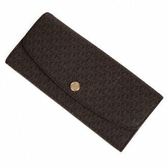 Michael Kors MICHAEL KORS long wallet JULIANA 32S6GJRE9B brown 10P03Dec16