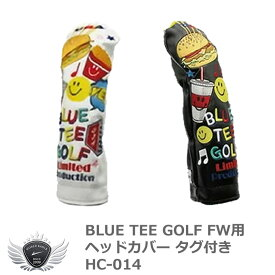 BLUE TEE GOLF ブルーティーゴルフ スマイルバーガー FW用ヘッドカバー HC-014