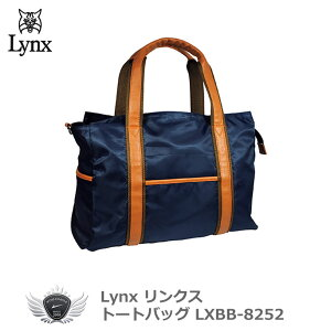 Lynx リンクス トートバッグ ネイビー LXBB-8252