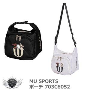 MU SPORTS エムユースポーツ ポーチ 703C6052