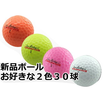 Seve Ballesteros brand new golf balls 2 boxes = 30 ball is exceptional 2480 Yen! MD golf champions Golf fs3gm