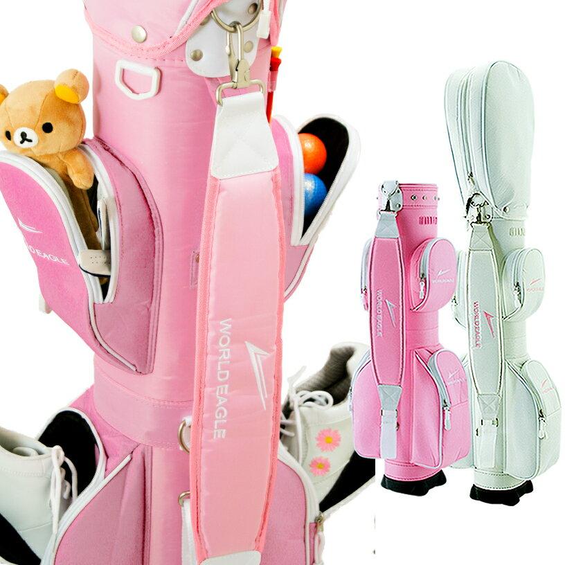 ワールドイーグル エアーCC15 レディースクラブケース【ホワイト/ピンク】【WORLD EAGLE】【ポイント2倍】【最安値に挑戦】【あす楽】