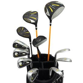 ワールドイーグル 5Z+F01αスタンドバック ブラック&ブラック メンズ14点クラブセット右用【初心者 初級者 ビギナー】【add-option】