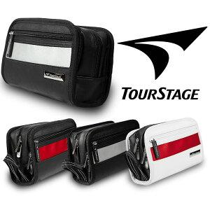 有名ブランド ツアーステージ TOUR STAGE ゴルフのラウンドで便利なメンズ用スポーティーポーチ ボールや小物の収納!もちろん普段の生活でも使えます!