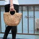 ヒヤシンス かごバッグ 大 レディース かわいい オシャレ 手編み 夏バッグ