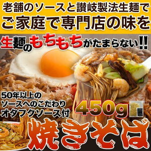 焼きそば オタフクソース が食欲そそる 焼きそば 5食 (90g×5) 送料無料 祖1000円ポッキリ