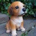犬の置物 ビーグル いぬ イヌ 動物 9685H オーナメント ガーデン オブジェ 庭 雑貨 ガーデニング インテリア 雑貨 マスコット