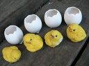 ひよこの置物『 たまごとひよこ 』8品セット 鳥 とり 動物 オーナメント オブジェ 庭 ガーデン 雑貨 インテリア