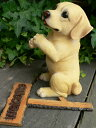ラブラドール ウエルカムボードドッグ いぬ イヌ 動物 2101H 犬の置物 置物 オーナメント ガーデン オブジェ 庭 雑貨 ガーデニング インテリア 雑貨 ...