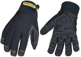 Youngstown Glove 03-3450-80-M Waterproof Winter Plus Performance Glove Medium Black