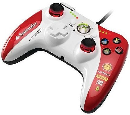 Thrustmaster GPX LightBack Ferrari F1 Edition for Xbox 360 おもちゃ