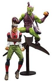 Marvel Select(マーベルセレクト) Green Goblin vs. Spider Man(グリーンゴブリンvs.スパイダーマン) フ