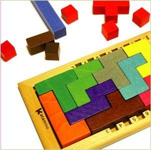 Gigamic (ギガミック) カタミノ KATAMINO (カタミノ) 木製ボードゲーム パズルゲーム