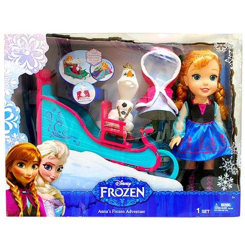 [ディズニー]Disney Frozen Anna Adventure Set/アナと雪の女王 デラックス アドベンチャーセット 人形