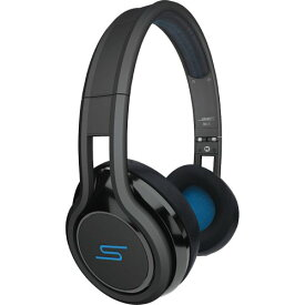 SMS Audio STREET by 50 Cent 折りたたみ可能・軽量版 On Ear Headphone Black ストリート バイ 50セント