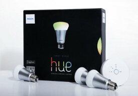 PHILIPS hue フィリップス LED スマート照明システム スターターパック iPhone iPadなどのスマホで明かり