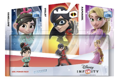 Disney Infinity Girls 3-Figure Power Pack (PS3/Xbox 360/Nintendo Wii/3DS/Wii U) (輸入版)